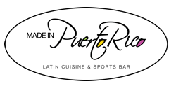 Made In Puerto Rico Latin Cuisine & Sports Bar logo